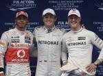 F1中国予選(メルセデス)
